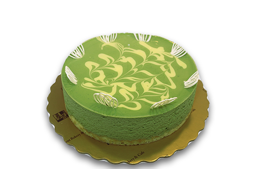 Greentea mousse